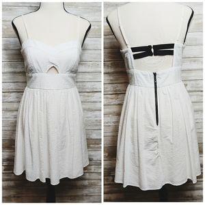 Jodi Kristopher White Summer Dress